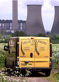Independent, same day, dedicated vehicle courier service 